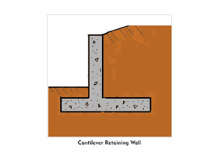 cantilever-retaining-wall