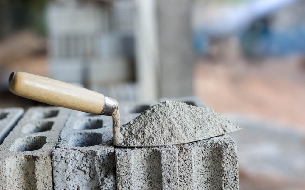 Difference between concrete and cement