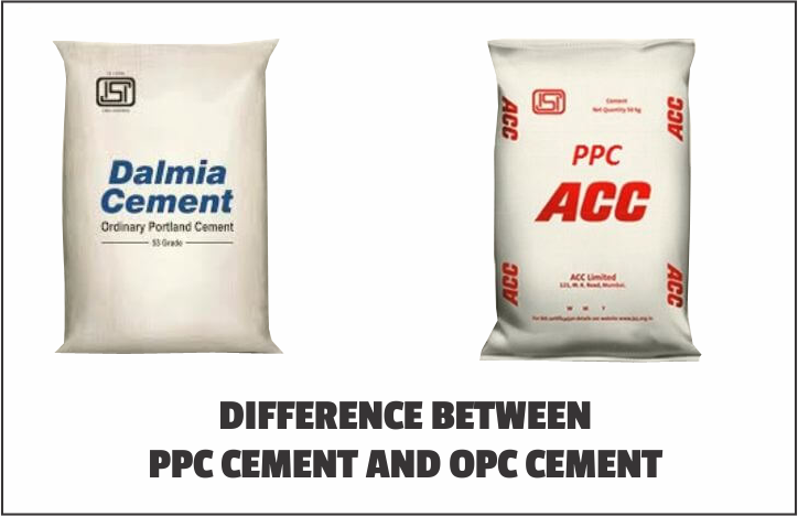 difference between PPC Cement and OPC Cement