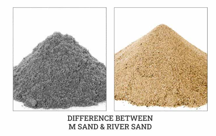 M sand and river sand